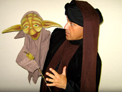 clown marseille ventriloque yoda -sos clown-